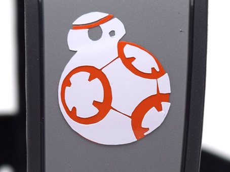 Layering Your BB8 MagicBand Decal