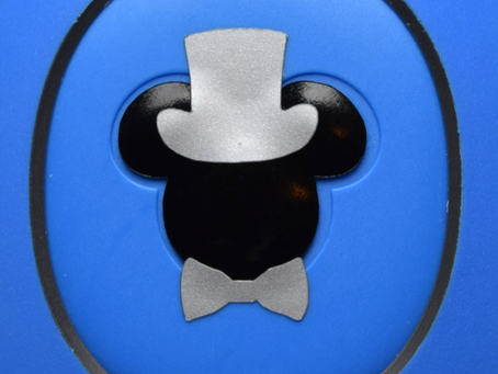 Layering Your Groom Mickey MagicBand Decal