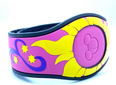 Layering Your Rapunzel MagicBand Vine and Sun Decals