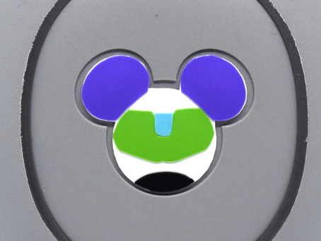 Layering Your Buzz Lightyear MagicBand Decal