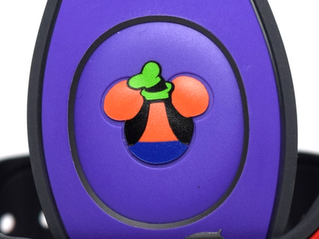 Layering Your Goofy MagicBand Decal