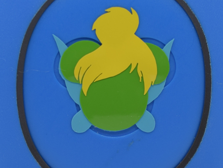 Layering Your Tinkerbell MagicBand Decal