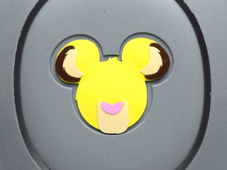 Layering Your Simba MagicBand Decal