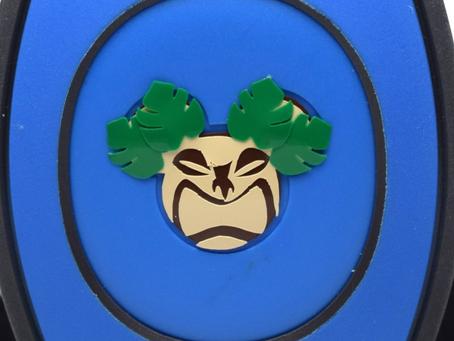 Layering Your Tiki MagicBand Decal
