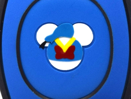 Layering Your Donald Duck MagicBand Decal