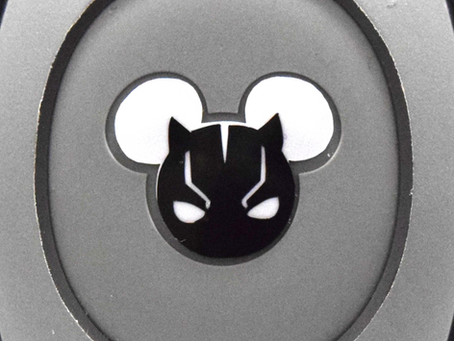 Layering Your Black Panther MagicBand Decal