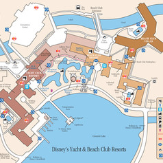 Yacht and Beach Club Map