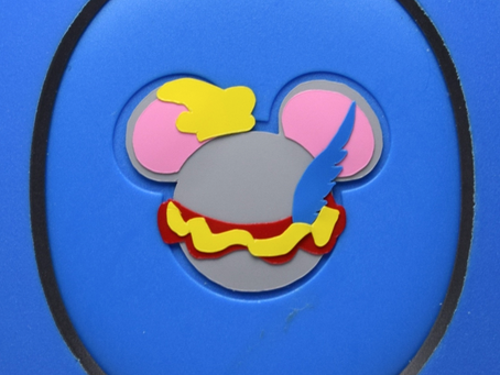 Layering Your Dumbo MagicBand Decal