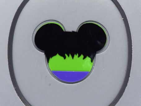 Layering Your Hulk MagicBand Decal
