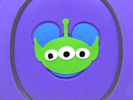 Layering Your Alien MagicBand Decal