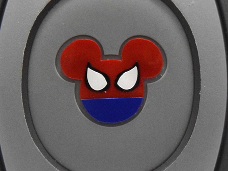 Layering Your Spider-Man MagicBand Decal