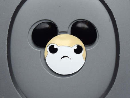 Layering Your Porg MagicBand Decal