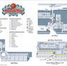 Paradise Pier Map