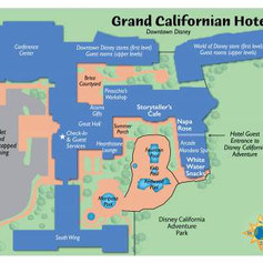 Grand Californian Map