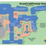 Grand Californian Map