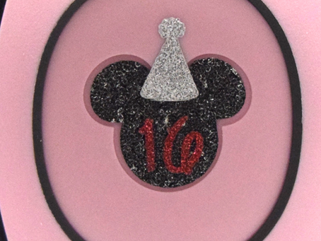 Layering Your Birthday Mickey MagicBand Decal