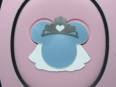 Layering Your Bride Minnie MagicBand Decal