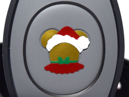 Layering Your Mrs. Claus Mickey MagicBand Decal
