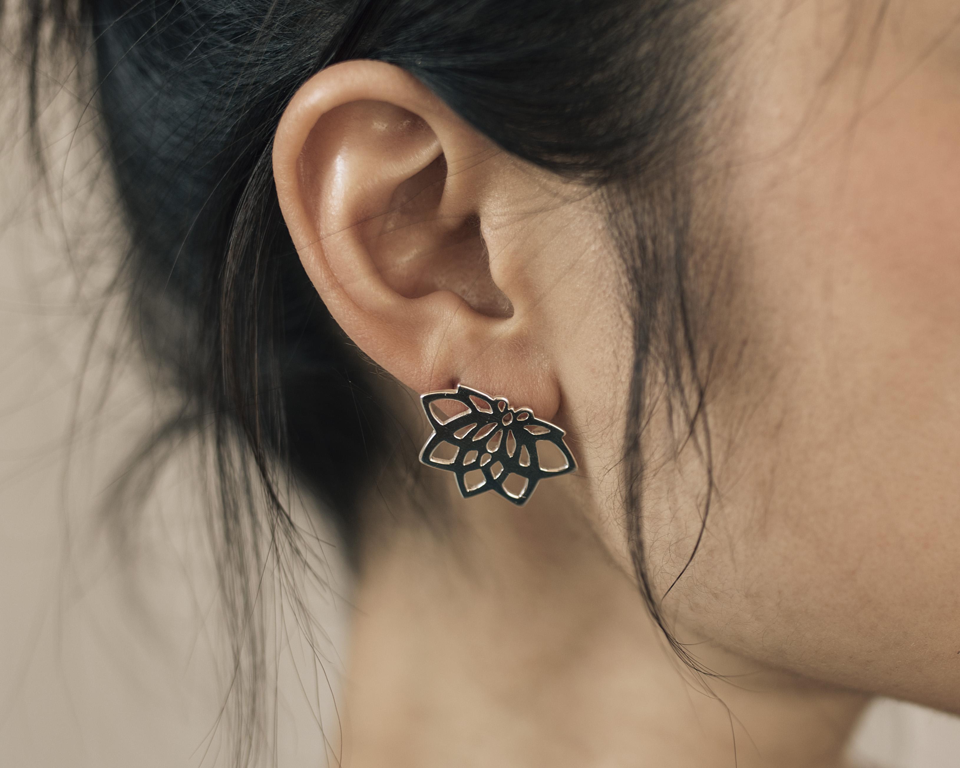 Yogi Lotus Earring