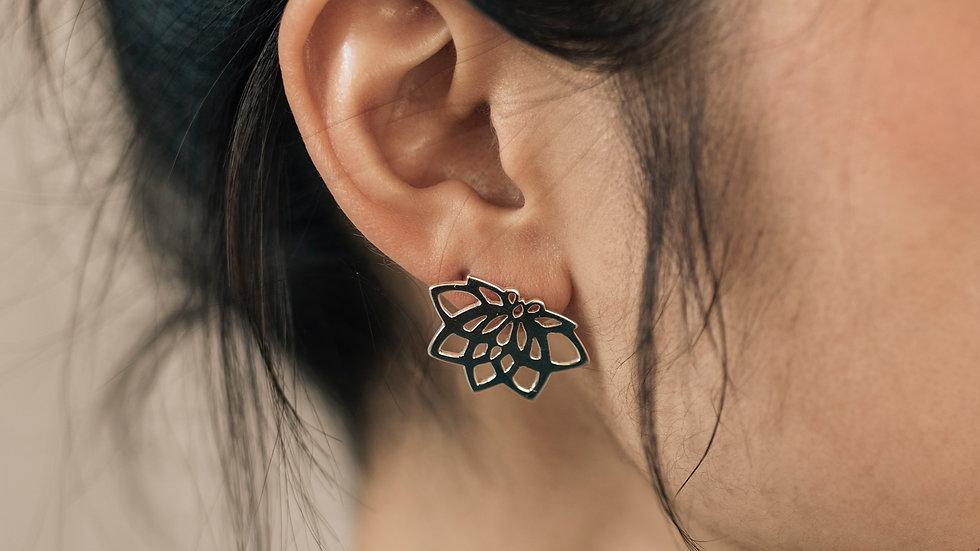 Yogi Lotus Earrings