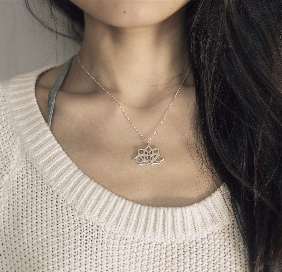 Yogi Lotus Necklace
