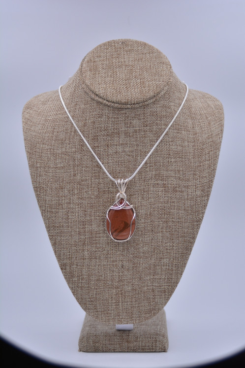 precious making goldstone jewellery grande handmade pendant unique blue semi statement necklace products a