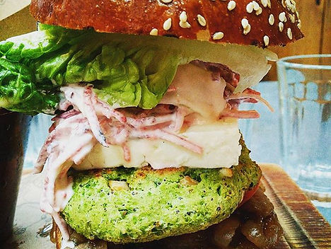 Jamie's Italian Veggie Burger