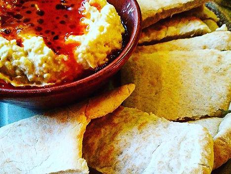 Nando's Hummus and Peri Peri Drizzle