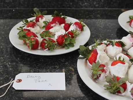 yoghurt stwarberries
