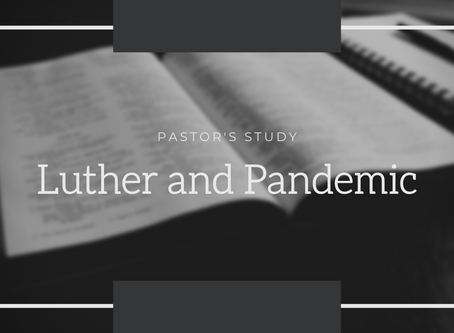 Luther and Pandemic