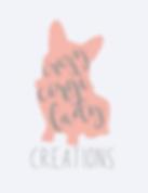 crazy corgi lady logo