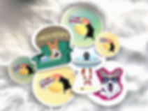 corgi stickers