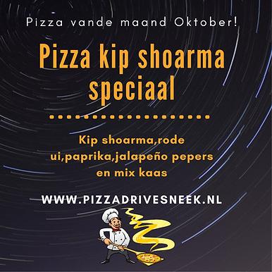 Geel en Zwart Geïllustreerd Pizzafeest Uitnodiging (6).png