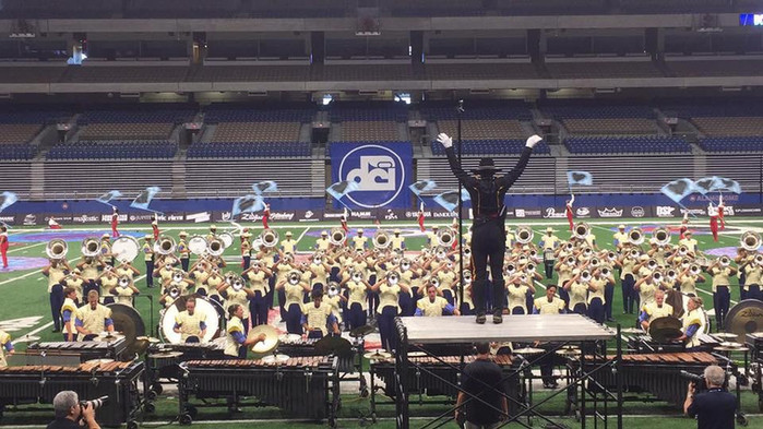 In 2017, Tray marched with the Troopers Drum and Bugle Corps