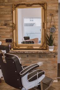Barber Stuhl Schicke Friseure