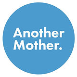 Another Mother logo - a blue circle with white text - admin help