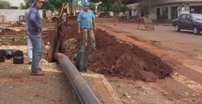 Novas redes melhoram abastecimento de água em Palotina