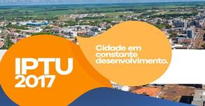 IPTU tem desconto de 30% em Palotina