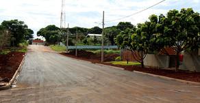 Maripá pavimenta trecho de acesso ao Lago Municipal