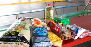 Maripá: Alunos da rede municipal recebem kits da alimentação escolar