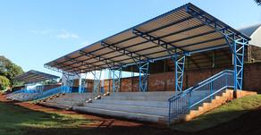 Obra das arquibancadas do Estádio Municipal é concluída