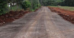 Obra de pavimentação na Rua 1º de janeiro entra na reta final