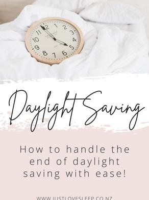 Daylight Saving - Fall back change