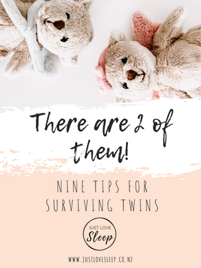 There are TWO of them and one of you but it takes a village. Here's 9 tips for surviving twins!