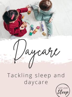 Daycare + Sleep!