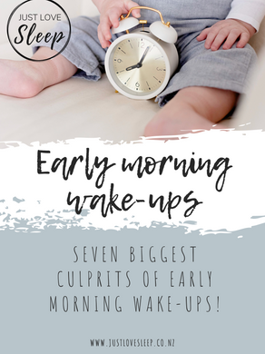 Early morning wake-ups!