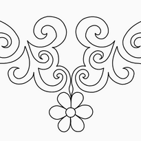 Flower Triangle