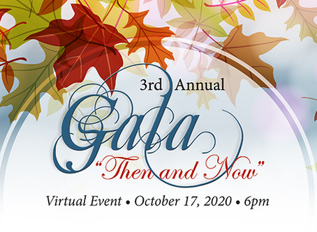 Despite COVID, Our Fall Gala Gives Us Reason to Celebrate