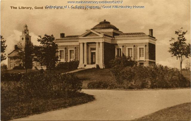 Original Carnegie Library at Good Will-Hinckley