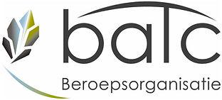 Logo van de beroepsorganisatie BATC